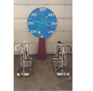 fietsen race 2 tegen elkaar