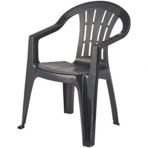 stapel stoel blauw