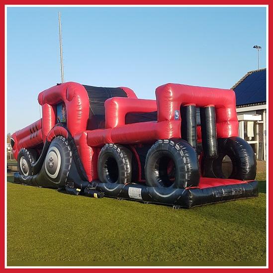 tractor hindernisbaan