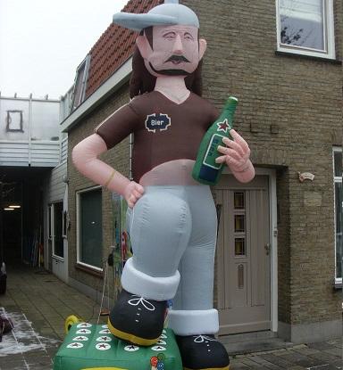 bierman 4 meter opblaasbaar
