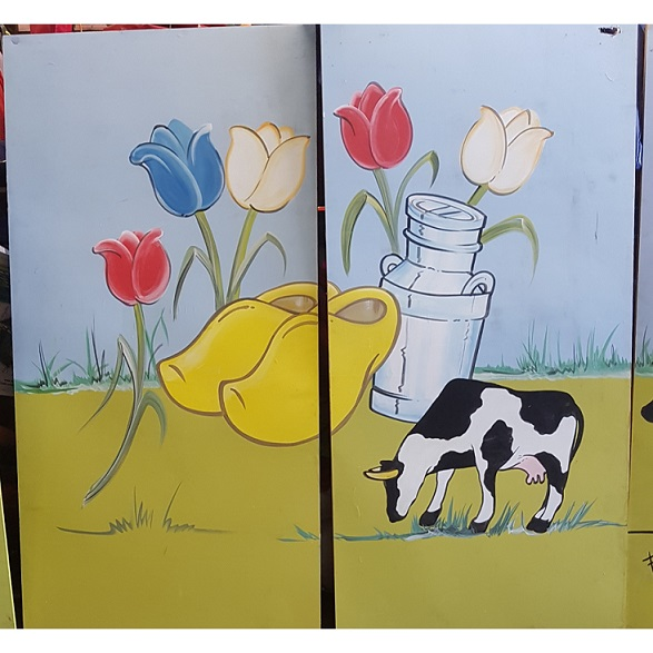 Decor panelen hou van Holland 2