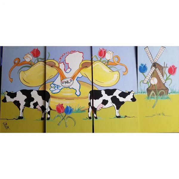 Decor panelen hou van Holland 4