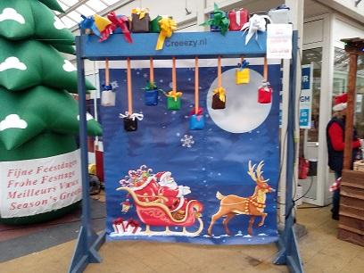 stokken vang spel kerst