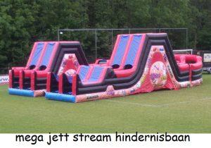 Hindernisbaan mega jet stream