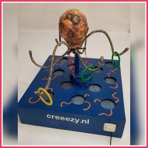 draaiende octopus met ringen