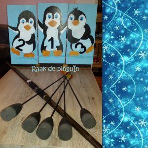 Raak de pinguin