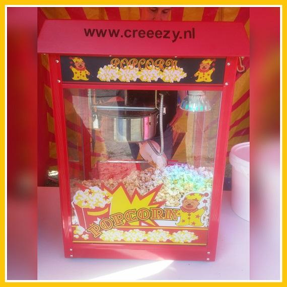 popcorn machine disco licht