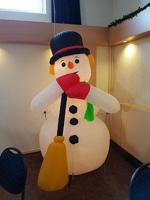 sneeuwman mini 2,5 meter