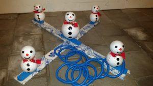 sneeuwpop werpen