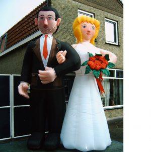 Bruidspaar opblaasbaar