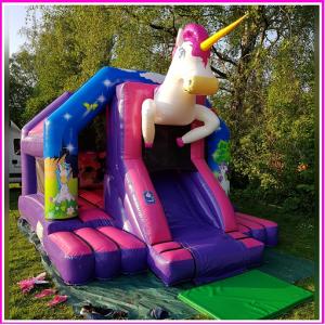 unicorn springkussen met disco en geluid
